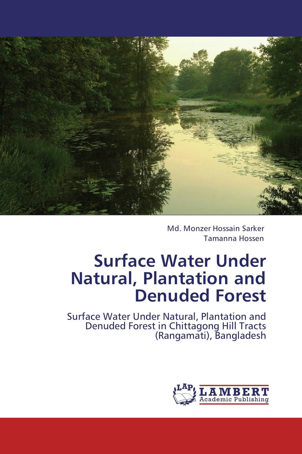 Surface Water Under Natural, Plantation and Denuded Forest particle mixing and settling in reservoirs under natural convection