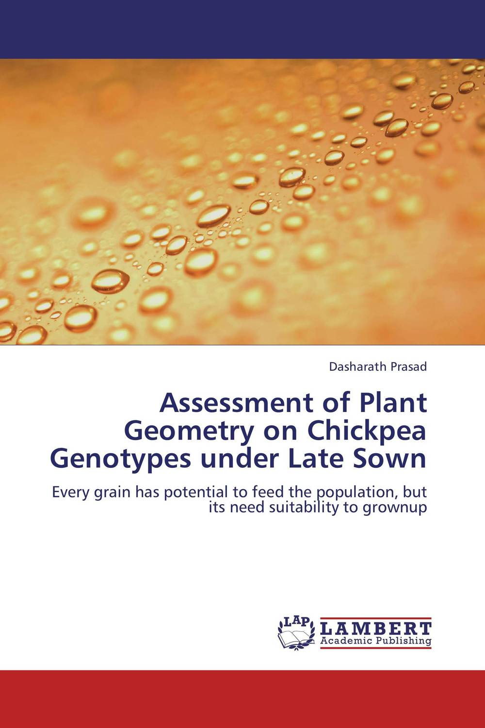 Assessment of Plant Geometry on Chickpea Genotypes under Late Sown
