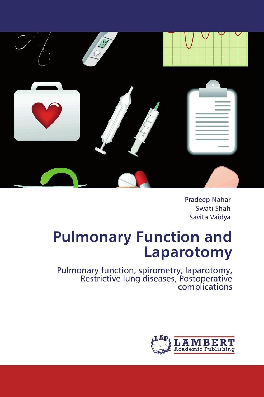 купить Pulmonary Function and Laparotomy недорого