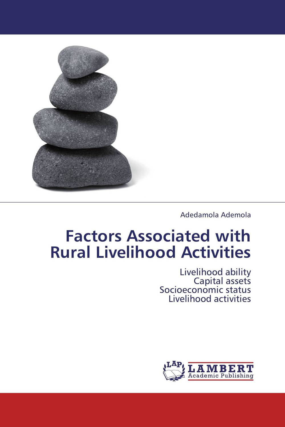 Factors Associated with Rural Livelihood Activities factors associated with bone health in young adults