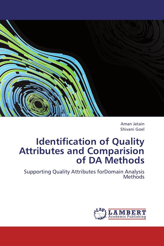 купить Identification of Quality Attributes and Comparision of DA Methods по цене 4631 рублей