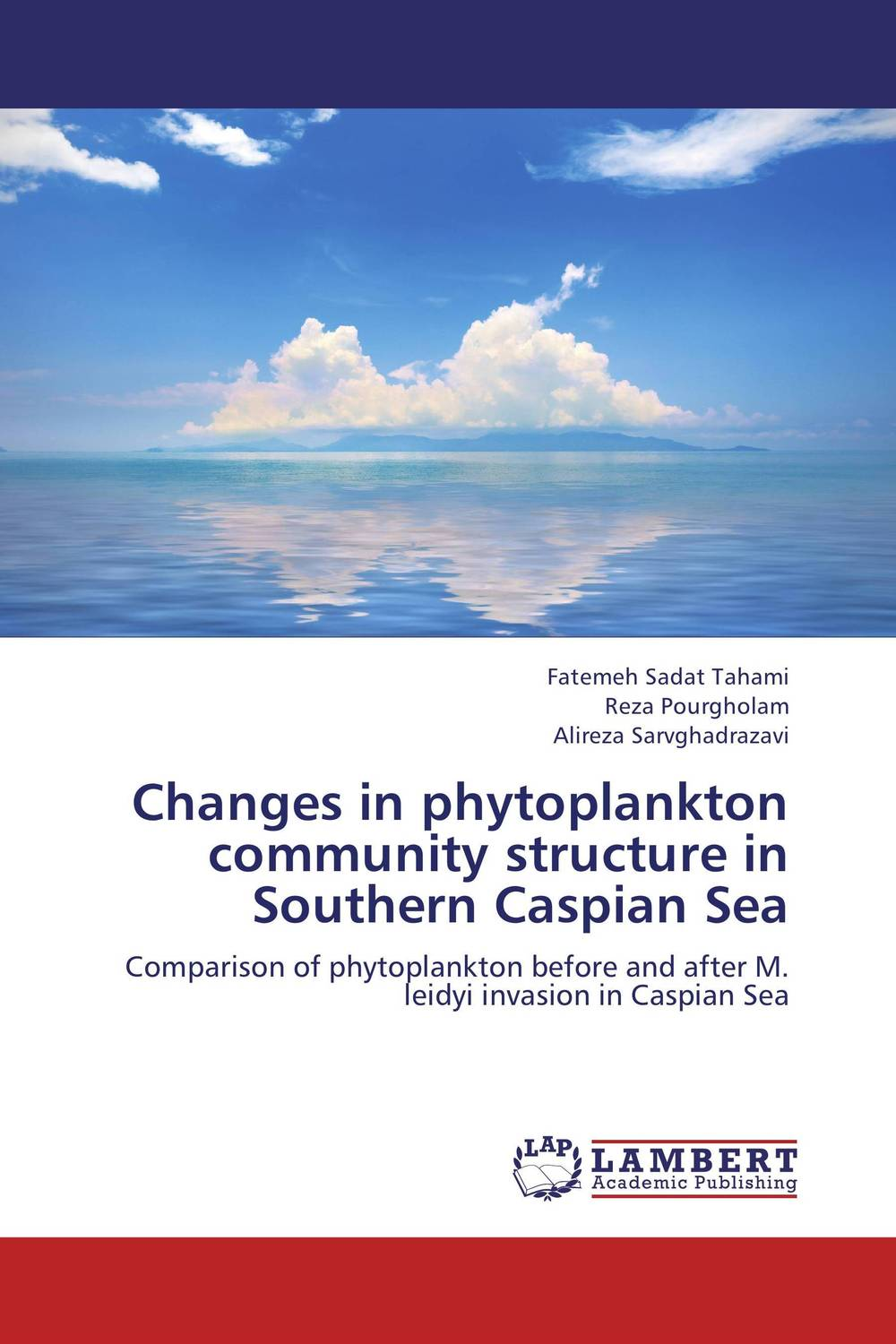 Changes in phytoplankton community structure in Southern Caspian Sea