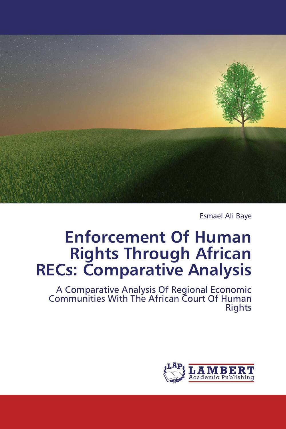 Enforcement Of Human Rights Through African RECs: Comparative Analysis esmael ali baye enforcement of human rights through african recs comparative analysis