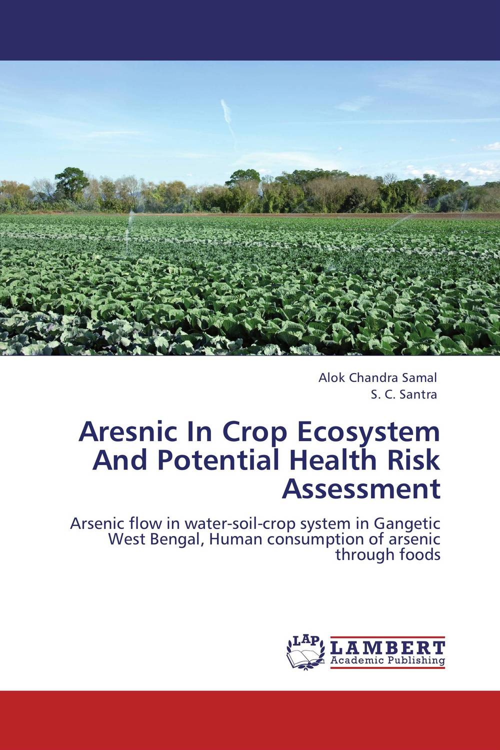 Aresnic In Crop Ecosystem And Potential Health Risk Assessment aresnic in crop ecosystem and potential health risk assessment