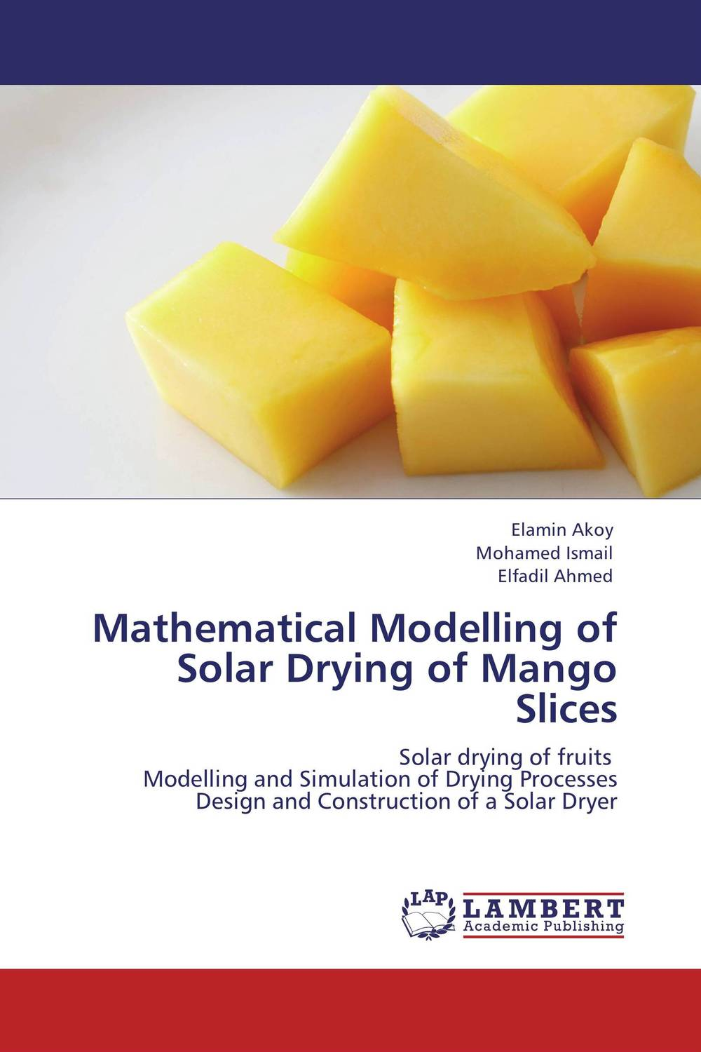 Mathematical Modelling of Solar Drying of Mango Slices arun bhagat ashutosh chavan and yatiraj kamble solar drying technology