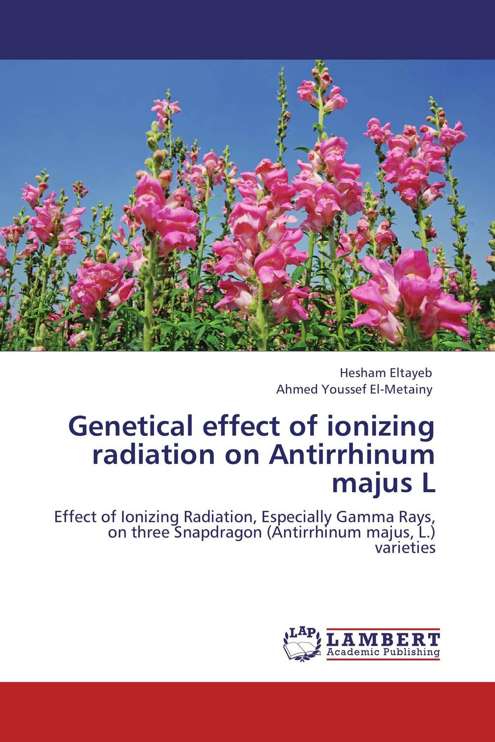 Genetical effect of ionizing radiation on Antirrhinum majus L systematics on family tabanidae in egypt