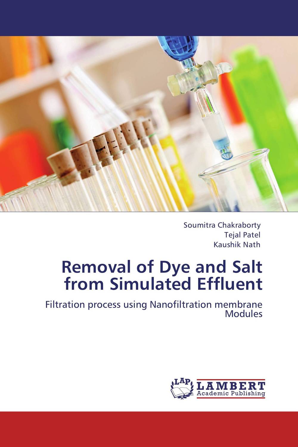 Removal of Dye and Salt from Simulated Effluent analysis fate and removal of pharmaceuticals in the water cycle 50