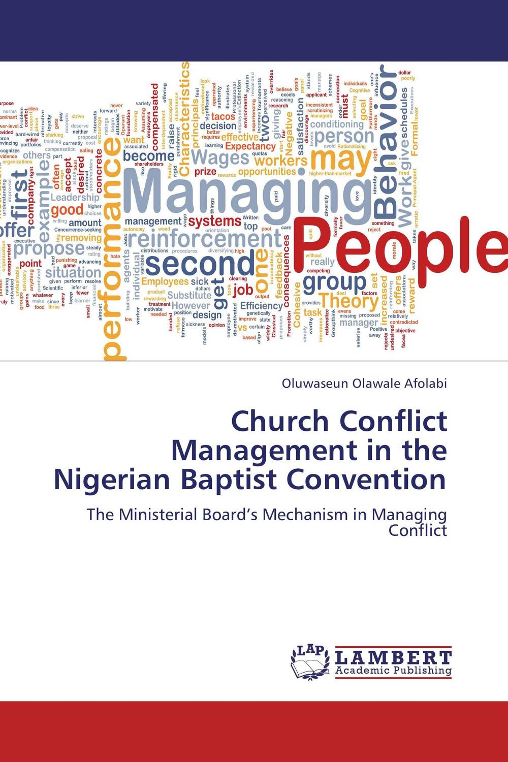 Church Conflict Management in the Nigerian Baptist Convention managing the store