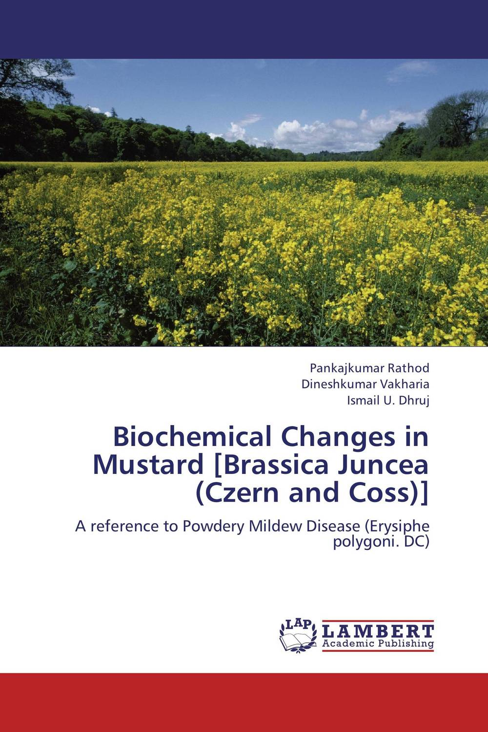 Biochemical Changes in Mustard [Brassica Juncea (Czern and Coss)] subodh kumar and rakesh kumar response of organic nutrition and nitrogen on mustard brassica juncea