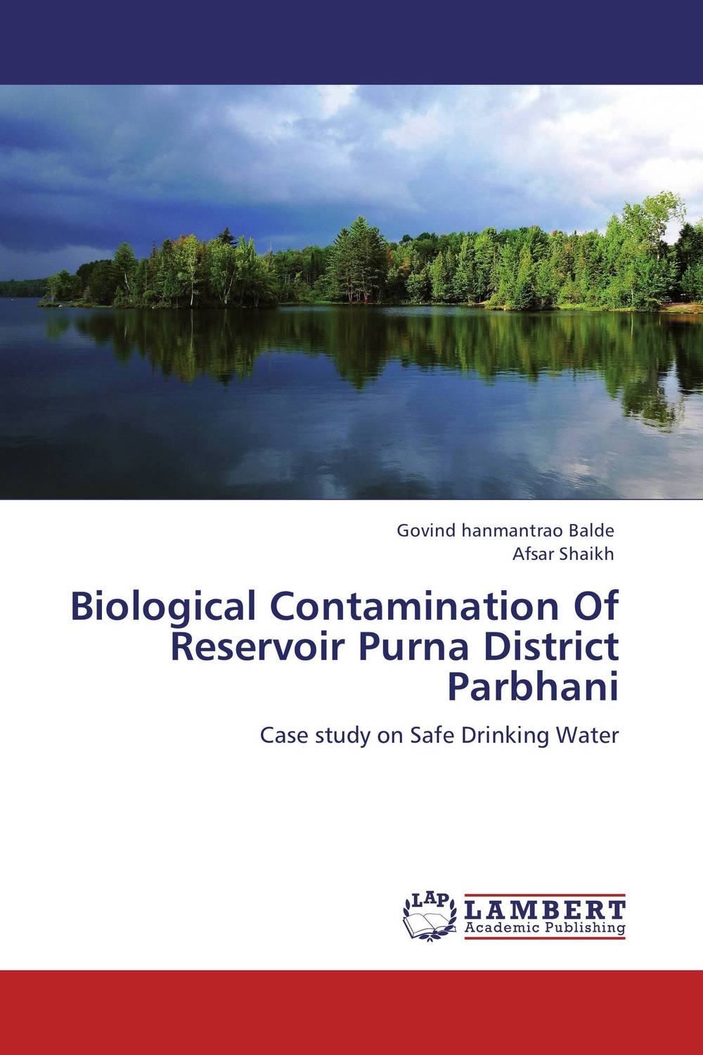Biological Contamination Of Reservoir Purna District Parbhani earth and biotic resources