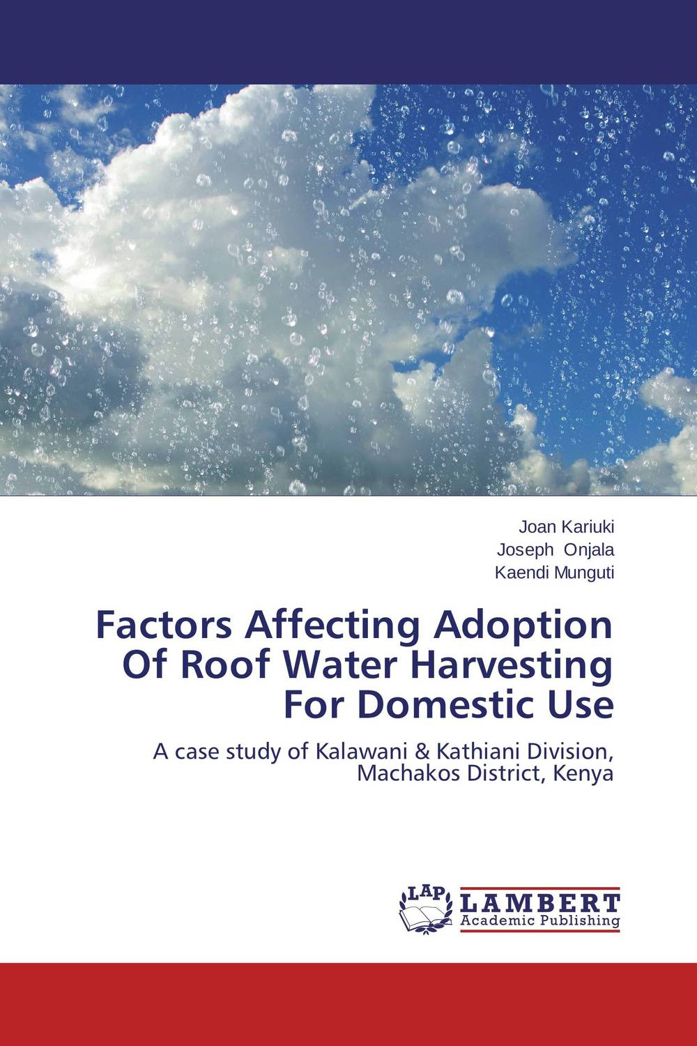 Factors Affecting Adoption Of Roof Water Harvesting For Domestic Use household rainwater harvesting ponds in ethiopia