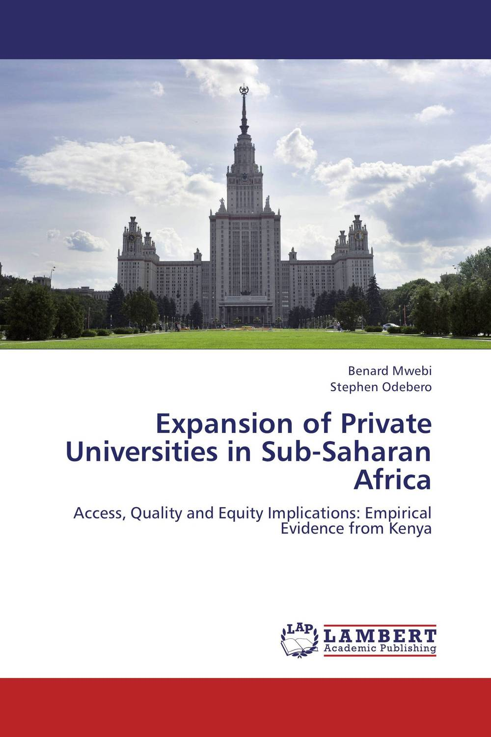 Expansion of Private Universities in Sub-Saharan Africa ann w wacira student choice of universities