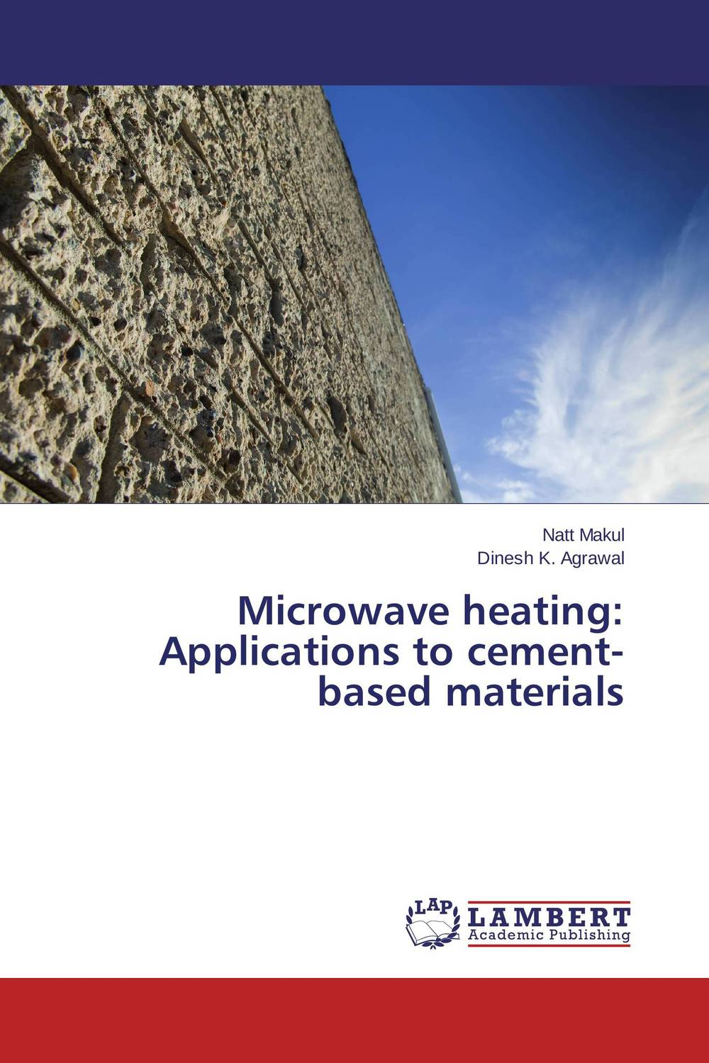 Microwave heating: Applications to cement-based materials husk