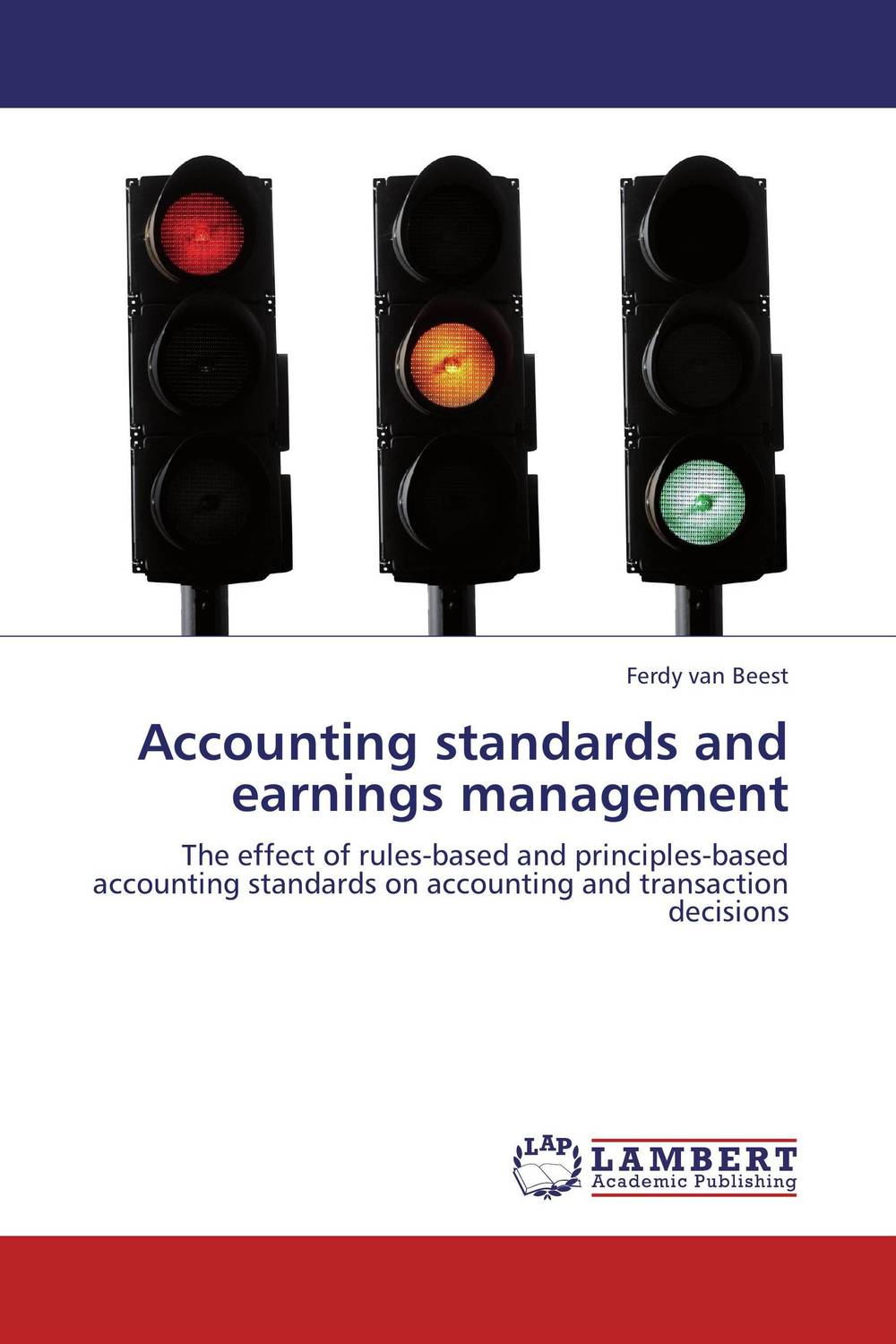 Accounting standards and earnings management police reaper pl 14385jsb 57