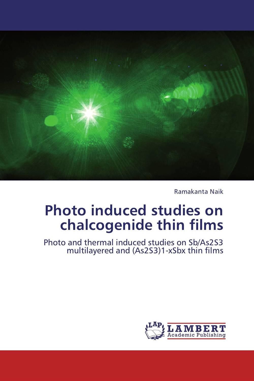 Photo induced studies on chalcogenide thin films bulk and thin films cu1 xtlxba2cacu208 y superconductors