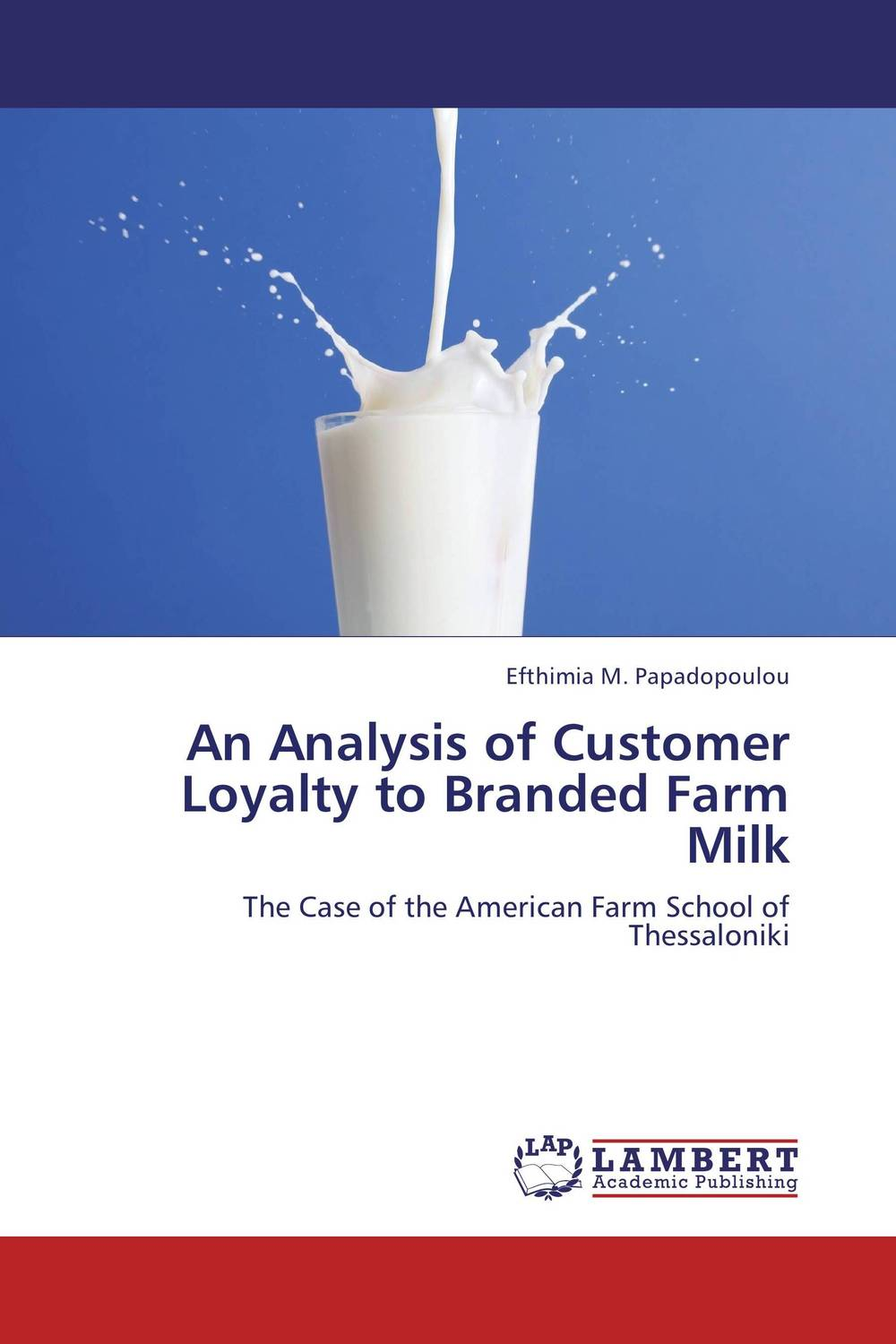 An Analysis of Customer Loyalty to Branded Farm Milk hama h 47224 dp 224