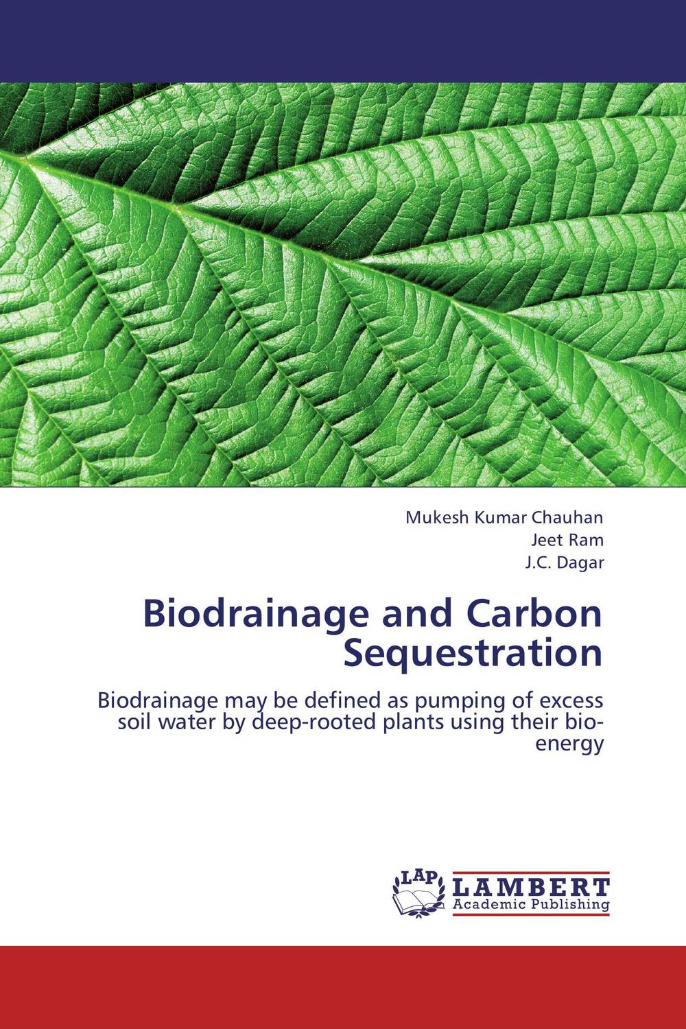 Biodrainage and Carbon Sequestration gnanasekar s and chandrasekhar c n carbon sequestration in multipurpose tree species at seedling stage