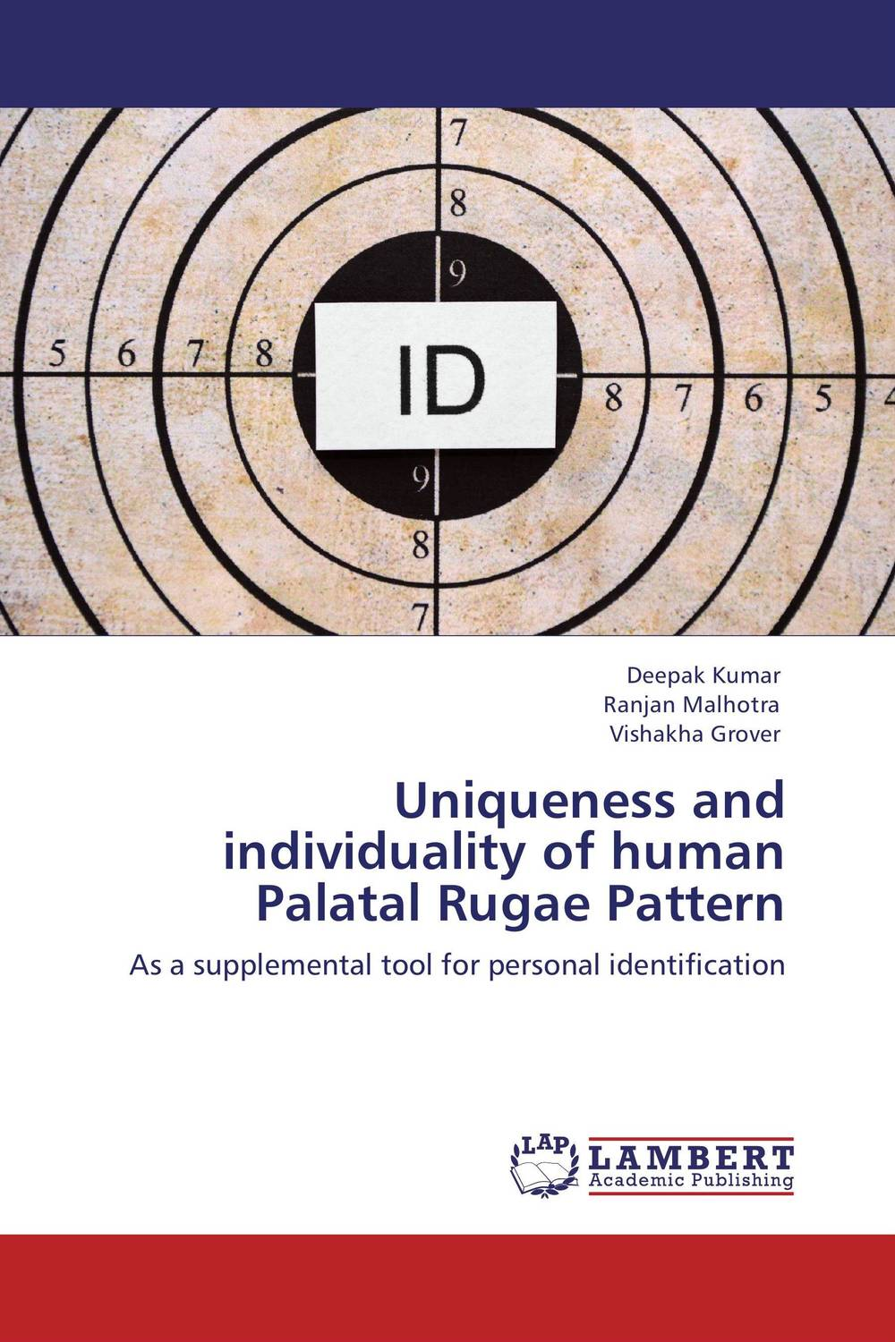 Uniqueness and individuality of human Palatal Rugae Pattern belousov a security features of banknotes and other documents methods of authentication manual денежные билеты бланки ценных бумаг и документов