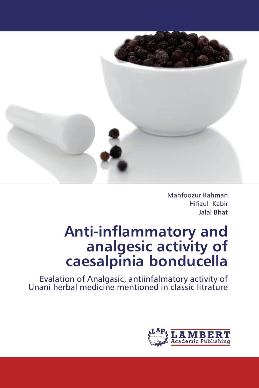 Anti-inflammatory and analgesic activity of caesalpinia bonducella