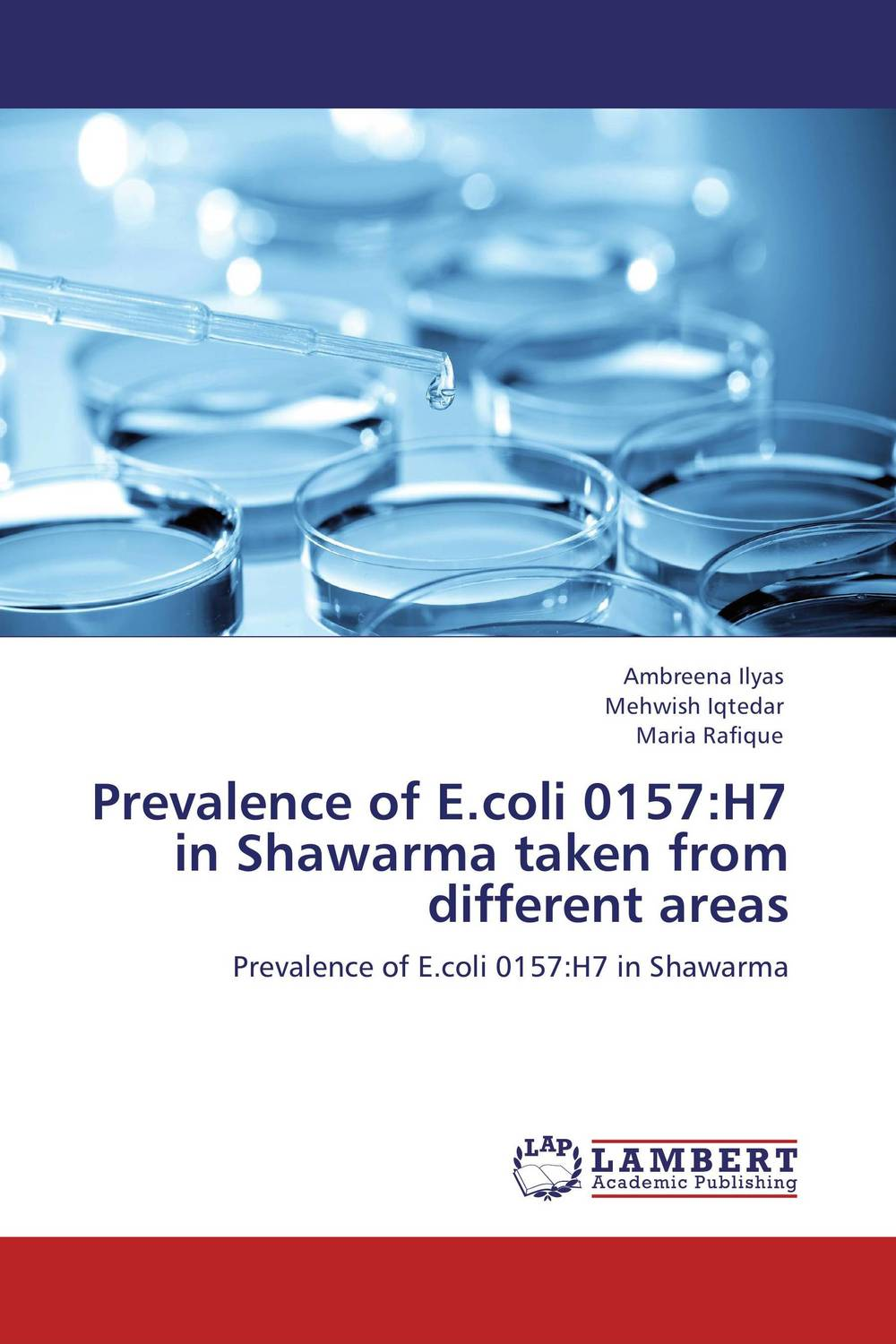 Prevalence of E.coli 0157:H7 in Shawarma taken from different areas prevalence of bovine cysticercosis taeniasis at yirgalem ethiopia