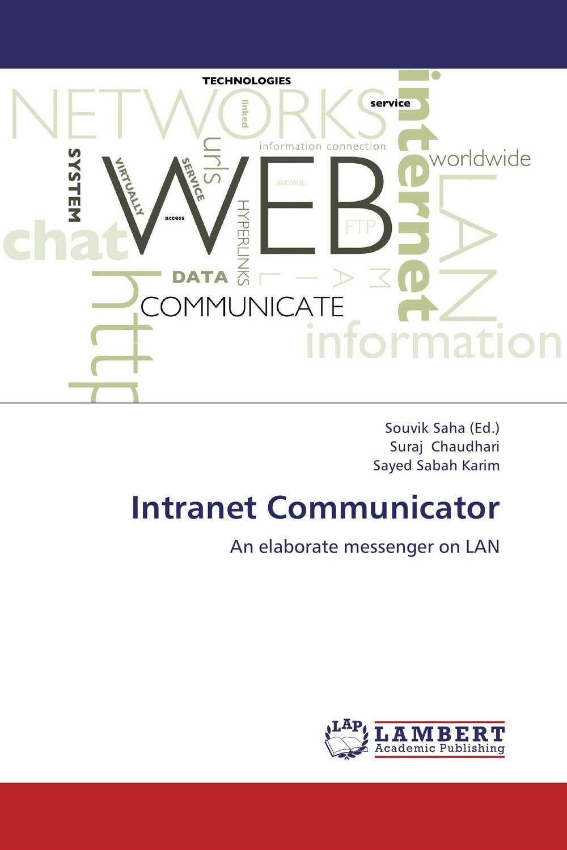 Intranet Communicator clustering information entities based on statistical methods