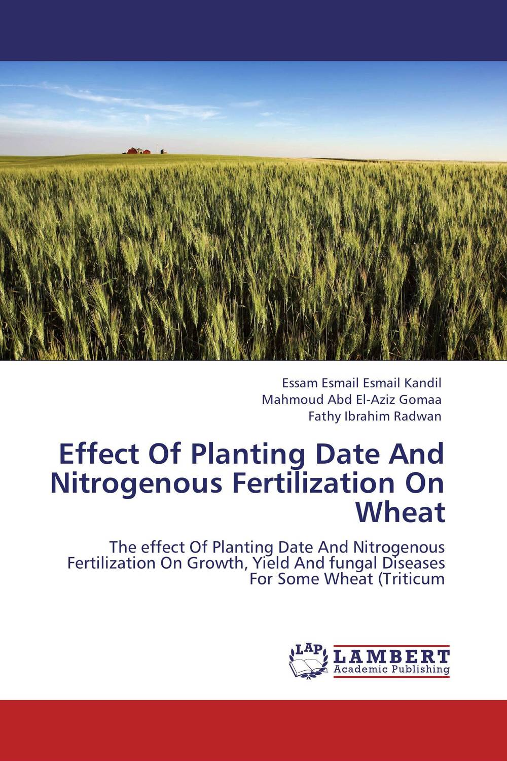Effect Of Planting Date And Nitrogenous Fertilization On Wheat