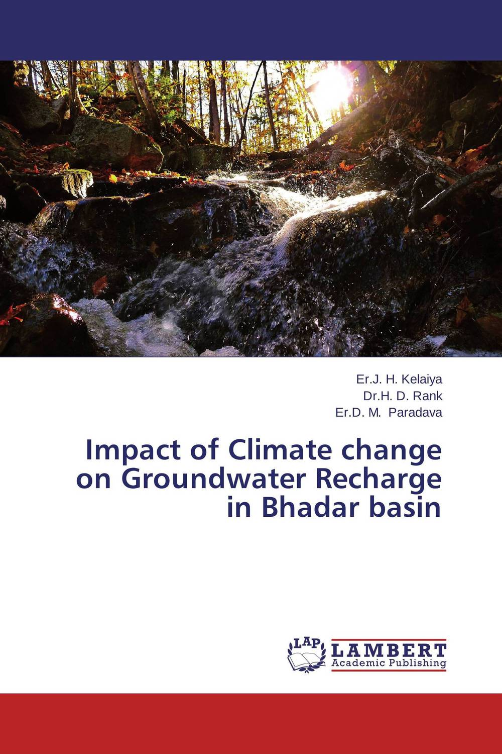 Impact of Climate change on Groundwater Recharge in Bhadar basin found in brooklyn