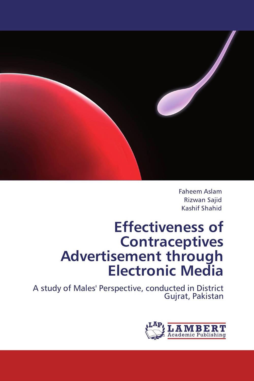 Effectiveness of Contraceptives Advertisement through Electronic Media social media usage among emirati digital natives