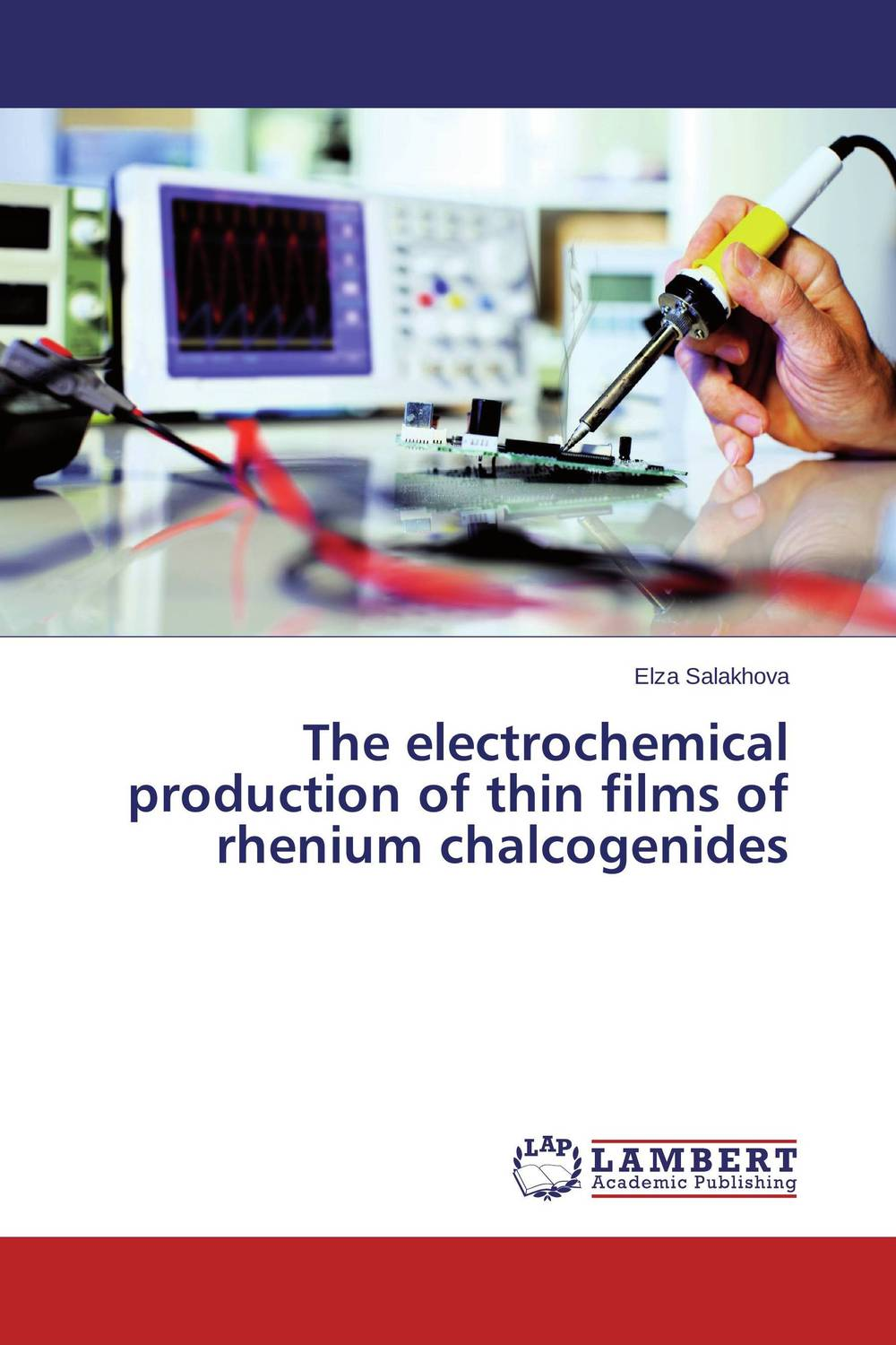 The electrochemical production of thin films of rhenium chalcogenides