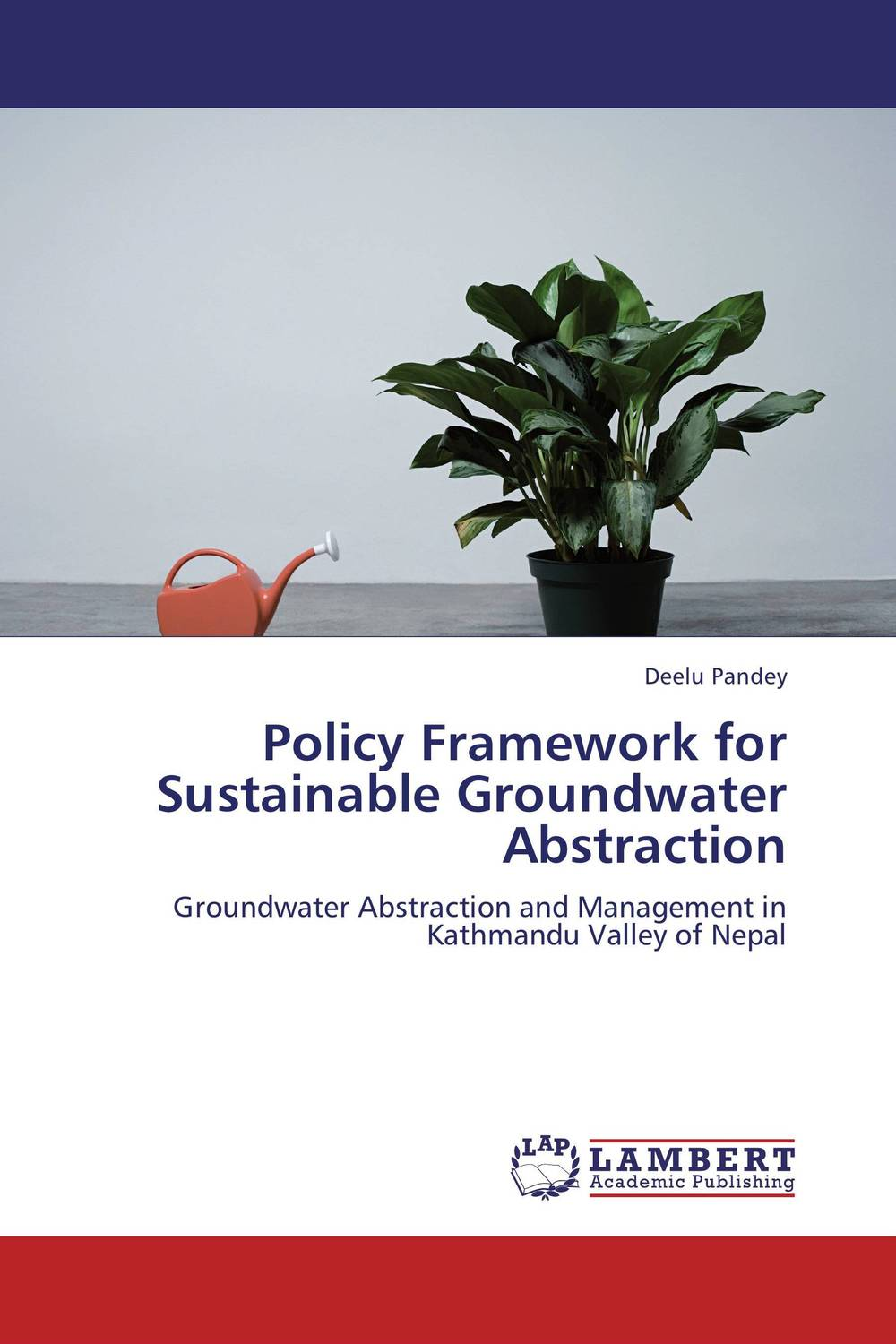 Policy Framework for Sustainable Groundwater Abstraction