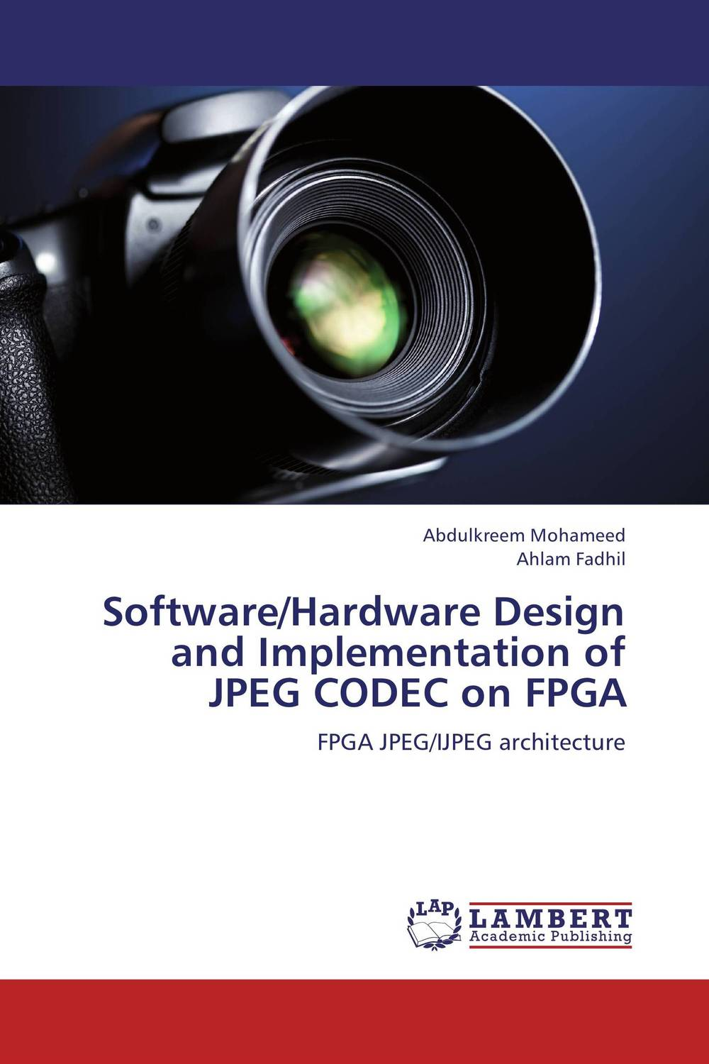 Software/Hardware Design and Implementation of JPEG CODEC on FPGA ледянки 1toy ледянка 52 см круглая 1toy winx