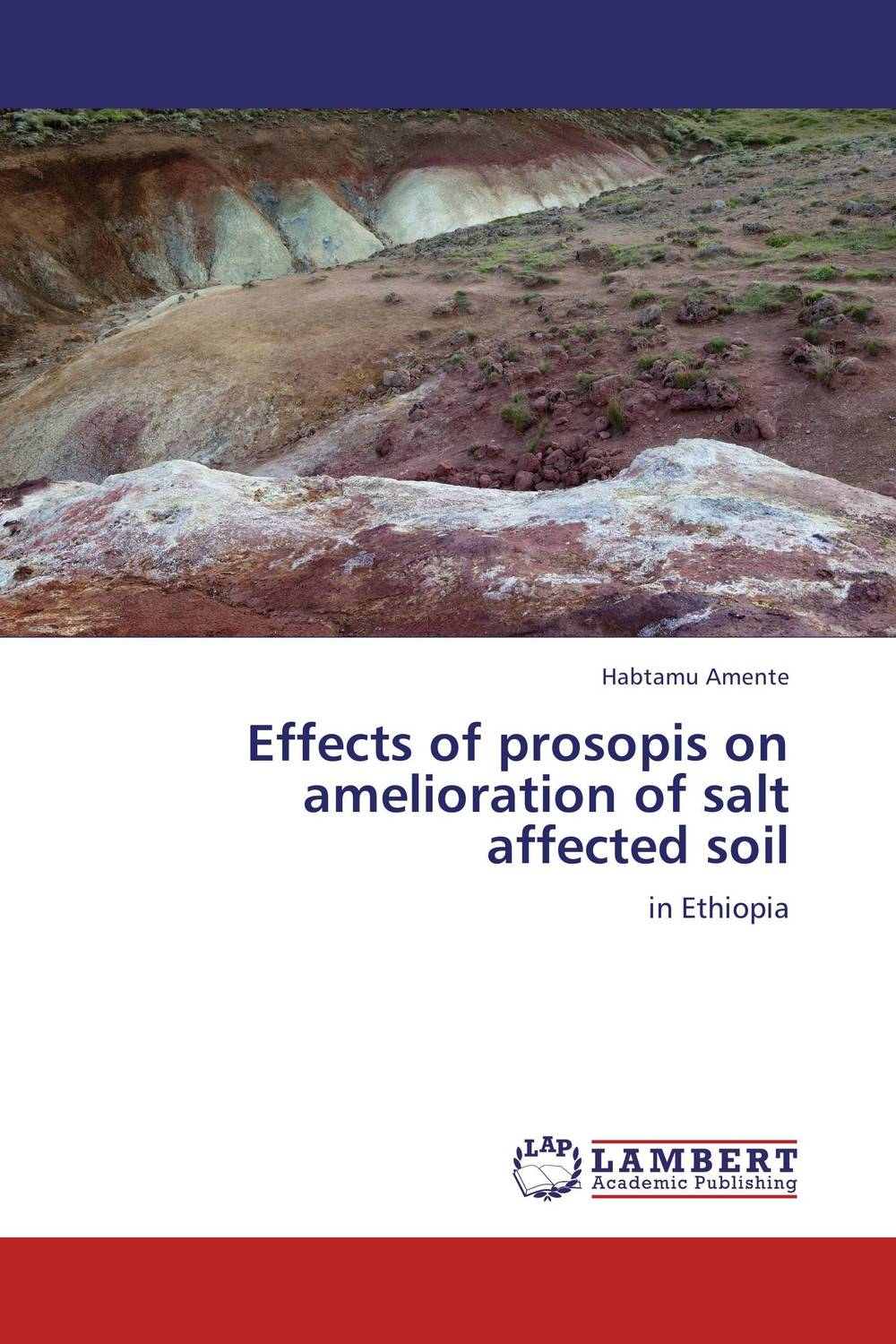 Effects of prosopis on amelioration of salt affected soil