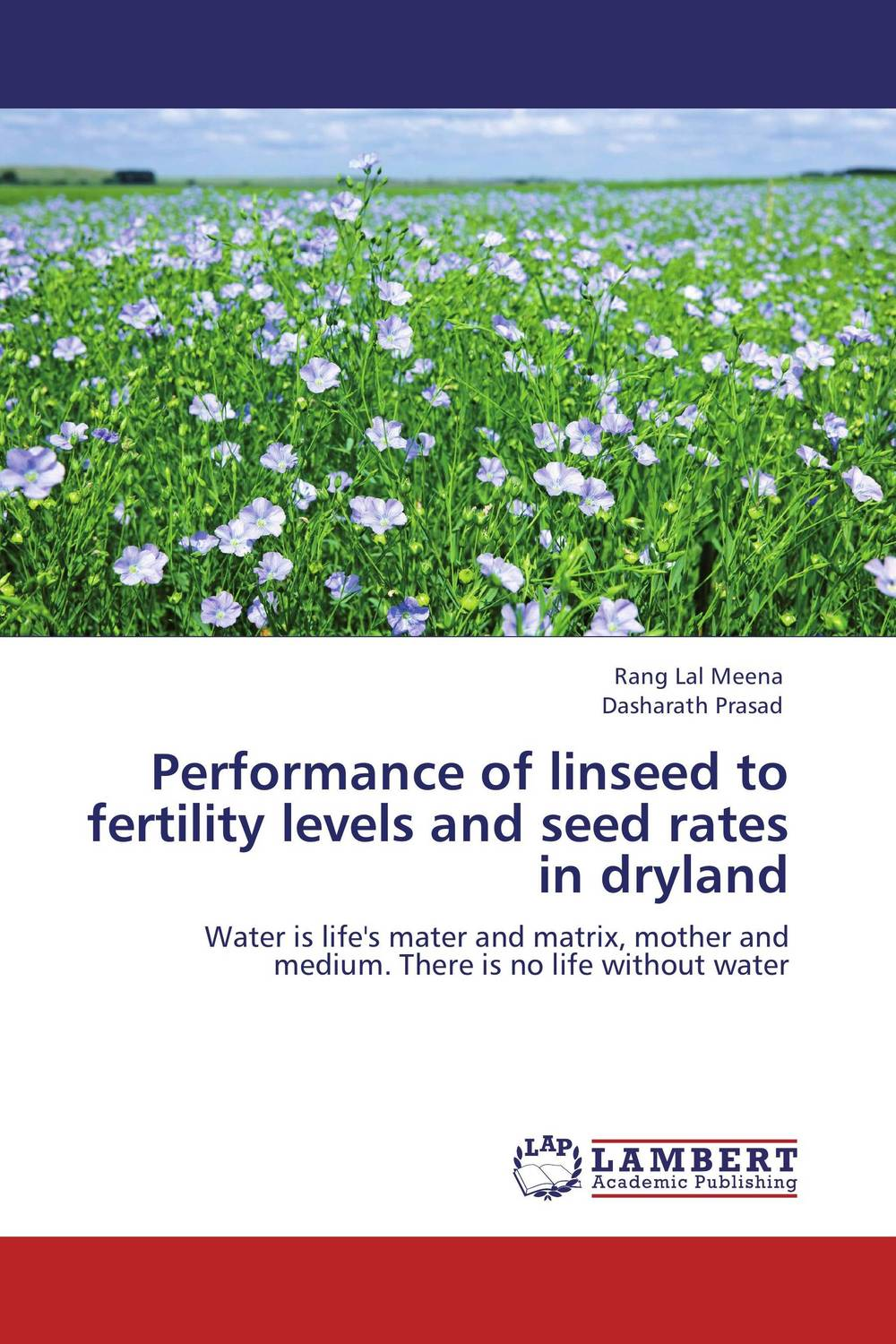 Performance of linseed to fertility levels and seed rates in dryland the salmon who dared to leap higher
