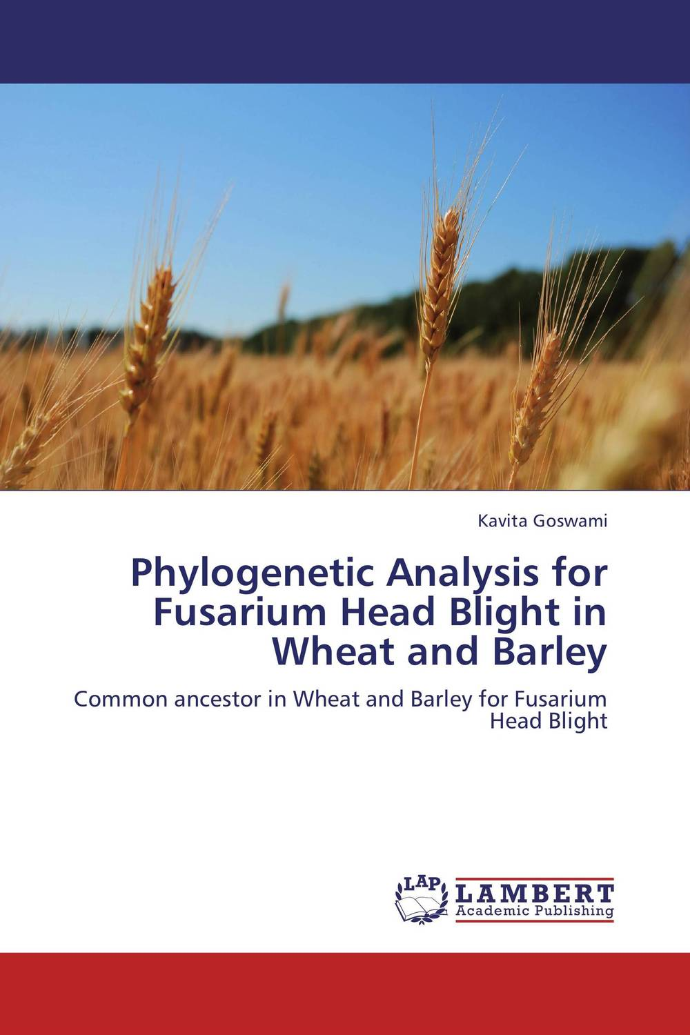 Phylogenetic Analysis for Fusarium Head Blight in Wheat and Barley butterflies in the barley