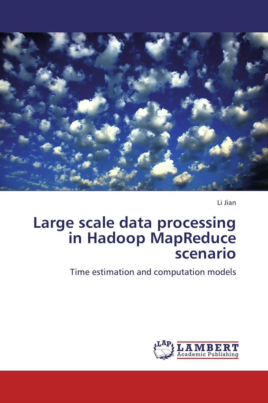 Large scale data processing in Hadoop MapReduce scenario