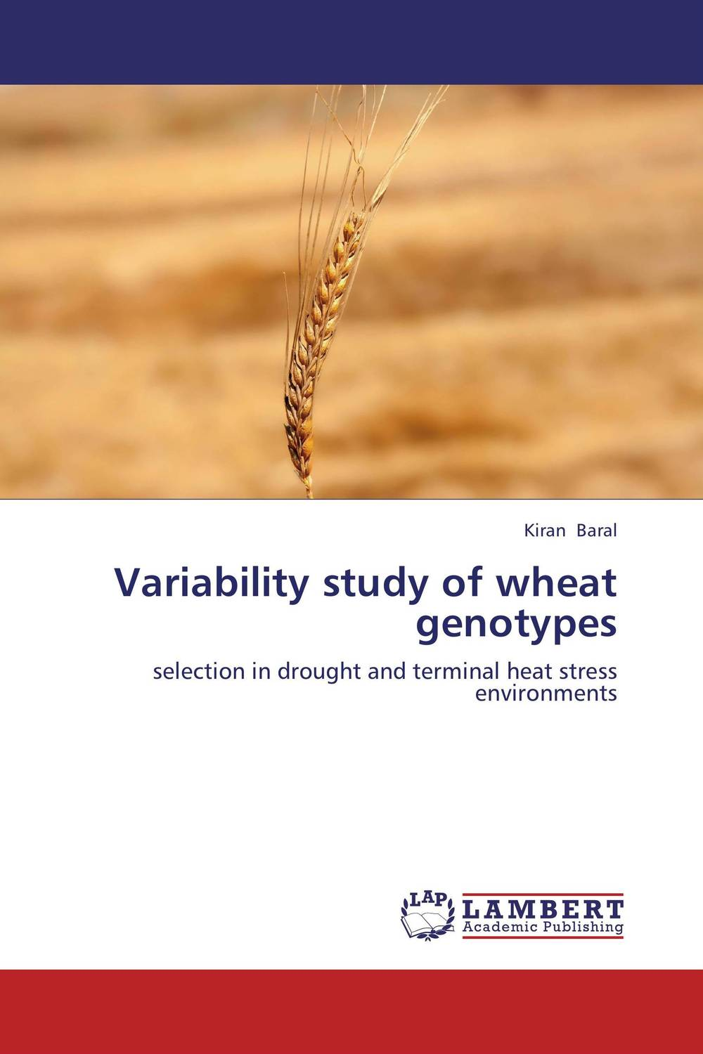 Variability study of wheat genotypes