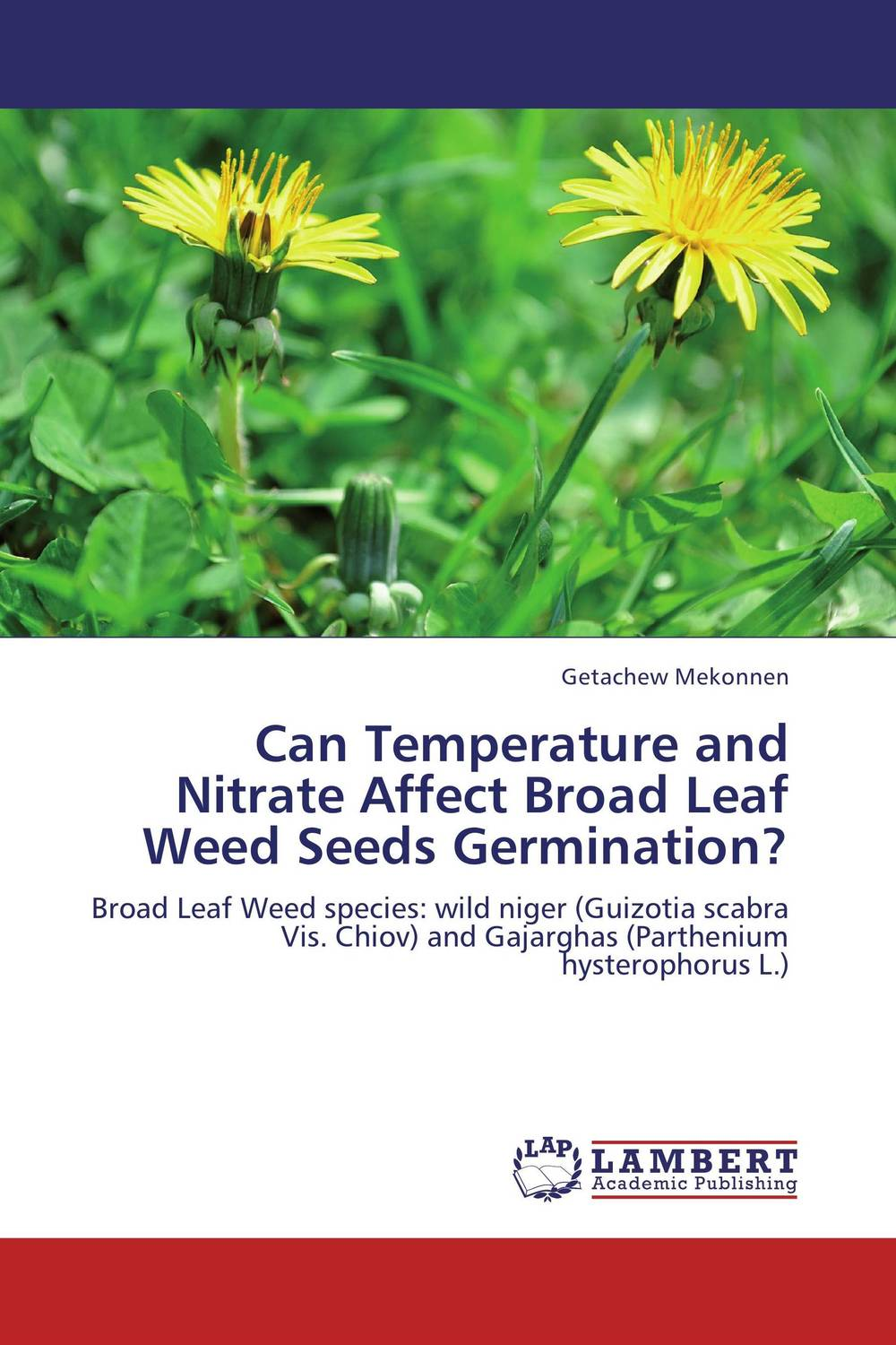 Can Temperature and Nitrate Affect Broad Leaf Weed Seeds Germination? seed dormancy and germination