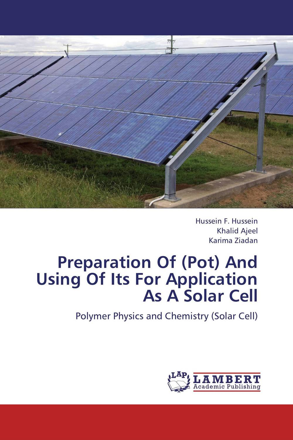 Preparation Of (Pot) And Using Of Its For Application As A Solar Cell application of conducting polymer electrodes in cell impedance sensing