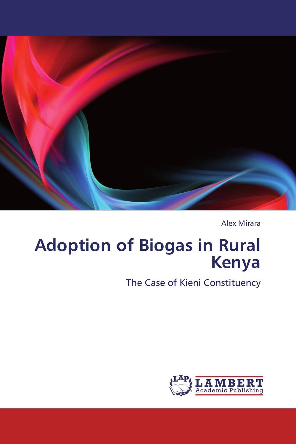 Adoption of Biogas in Rural Kenya biogas energy production and use