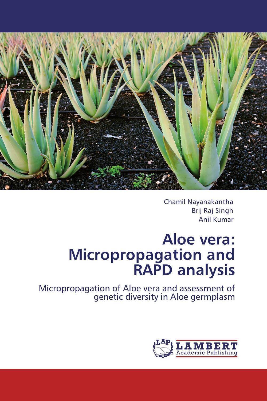 Aloe vera: Micropropagation and RAPD analysis гель christina natural aloe vera gel