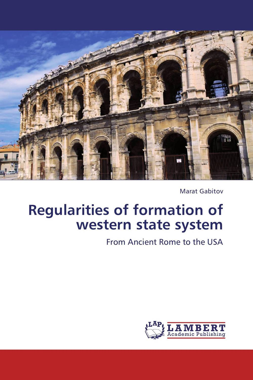 Regularities of formation of western state system affair of state an