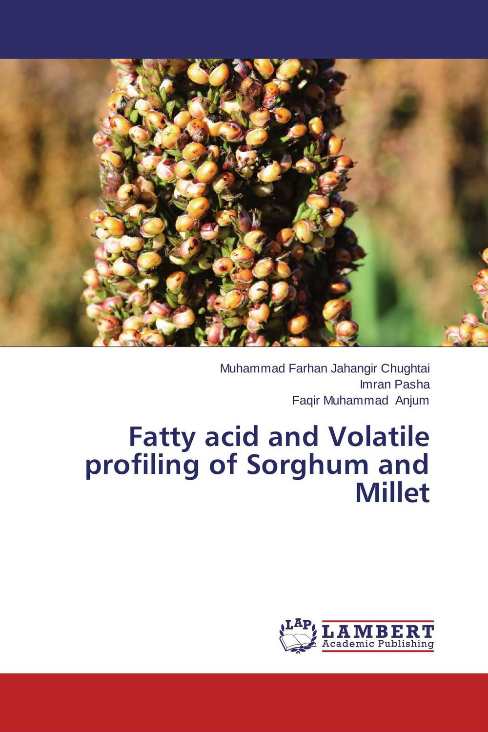 Fatty acid and Volatile profiling of Sorghum and Millet impurity profiling of drugs and pharmaceuticals