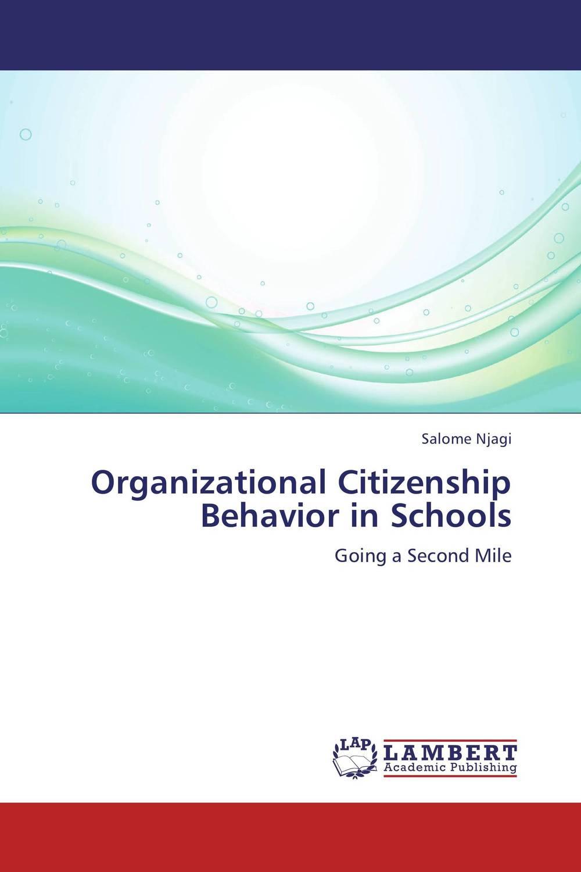 Organizational Citizenship Behavior in Schools muhammad hashim an easy approach to understand organizational behavior