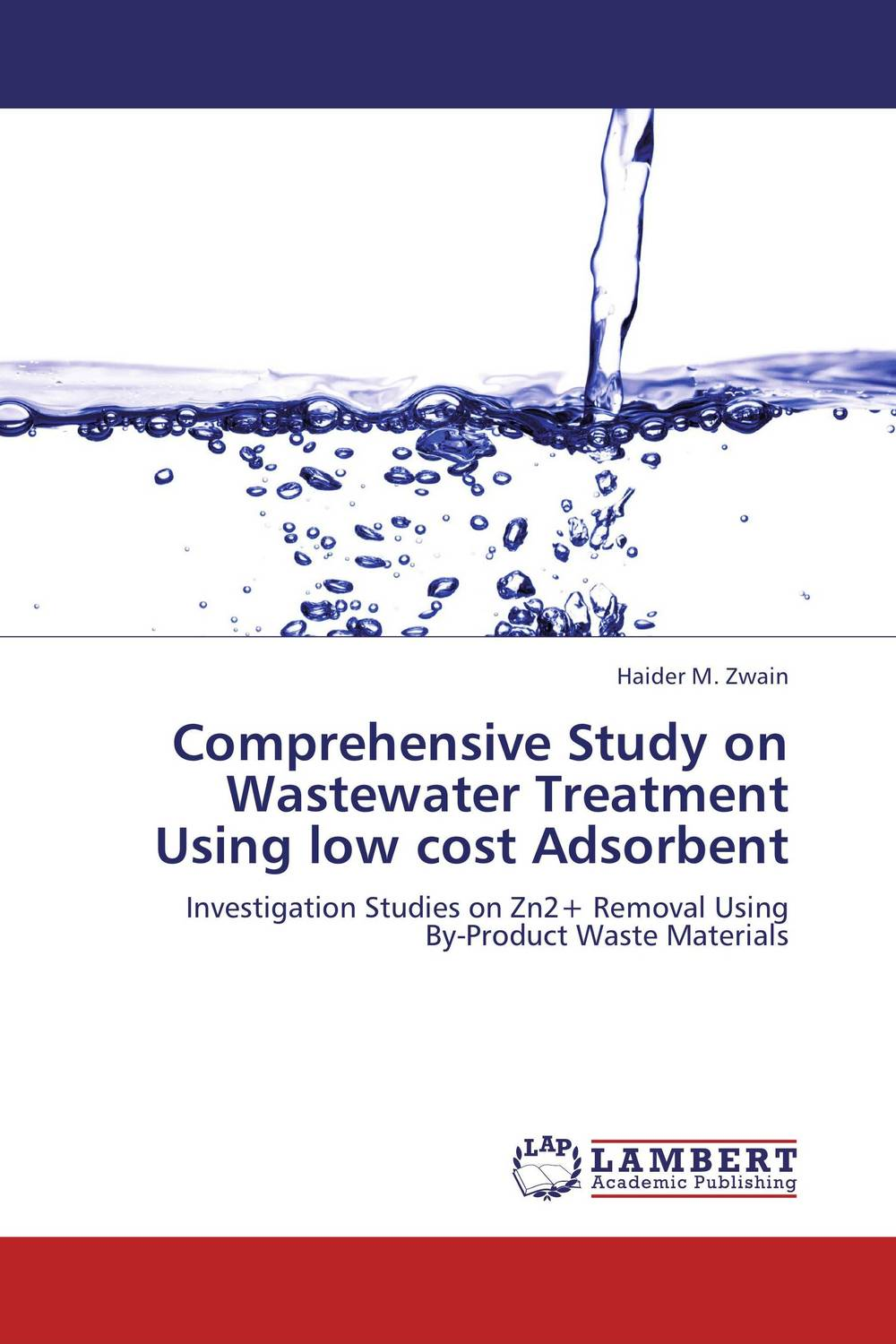 Comprehensive Study on Wastewater Treatment Using low cost Adsorbent цена