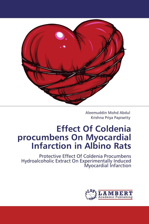 Effect Of Coldenia procumbens On Myocardial Infarction in Albino Rats