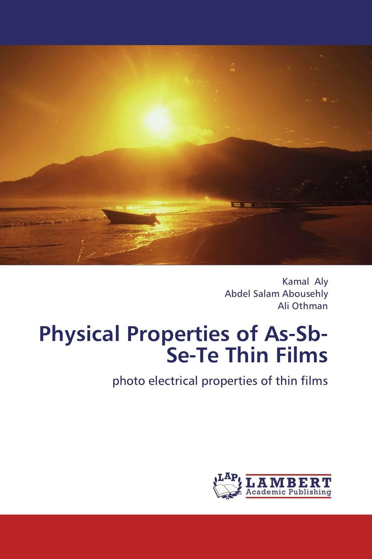 Physical Properties of As-Sb-Se-Te Thin Films bulk and thin films cu1 xtlxba2cacu208 y superconductors