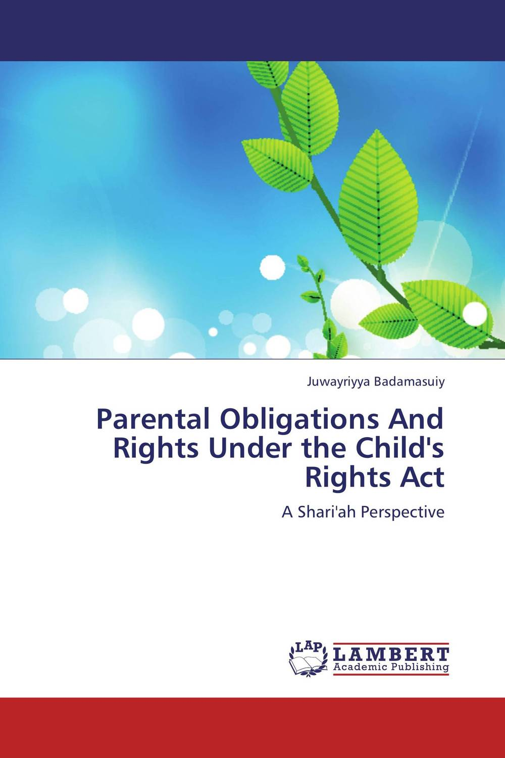 купить Parental Obligations And Rights Under the Child's Rights Act недорого