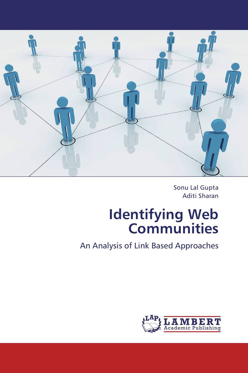 Identifying Web Communities clustering information entities based on statistical methods