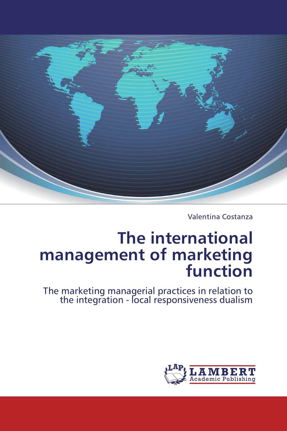 The international management of marketing function agricultural marketing management