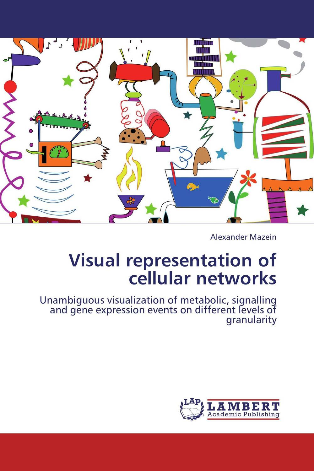 Visual representation of cellular networks